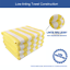 miniature 26 - Cabana Beach Towel 4 Packs - 30 x 70 Extra Large Striped Cotton Bath Towels
