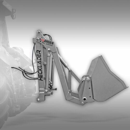 Hecklader Jansen HL-3000 hydraulische Heckschaufel,Bauernlader,Euroaufnahme
