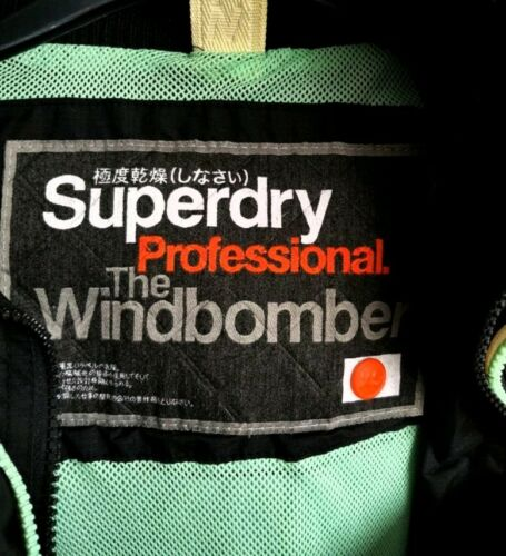 Xs dames Superdry windbomberjack maat professionele xHdq4dpI