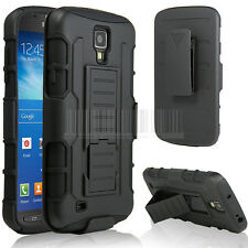 for Samsung Galaxy S4 I537 Active Hard Case Cover Future Armor Holster Protector