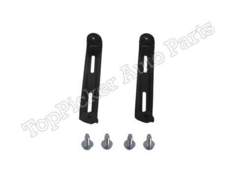 For 00-06 Tundra Std Bed Rear Bumper Chrome Face Bar Arm//Corner Brackets Screws