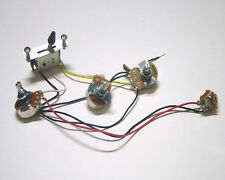 s l225 5 sets lefty strat guitar wiring harness 5 way blade switch 500k Drop in Strat Wiring Harness at creativeand.co