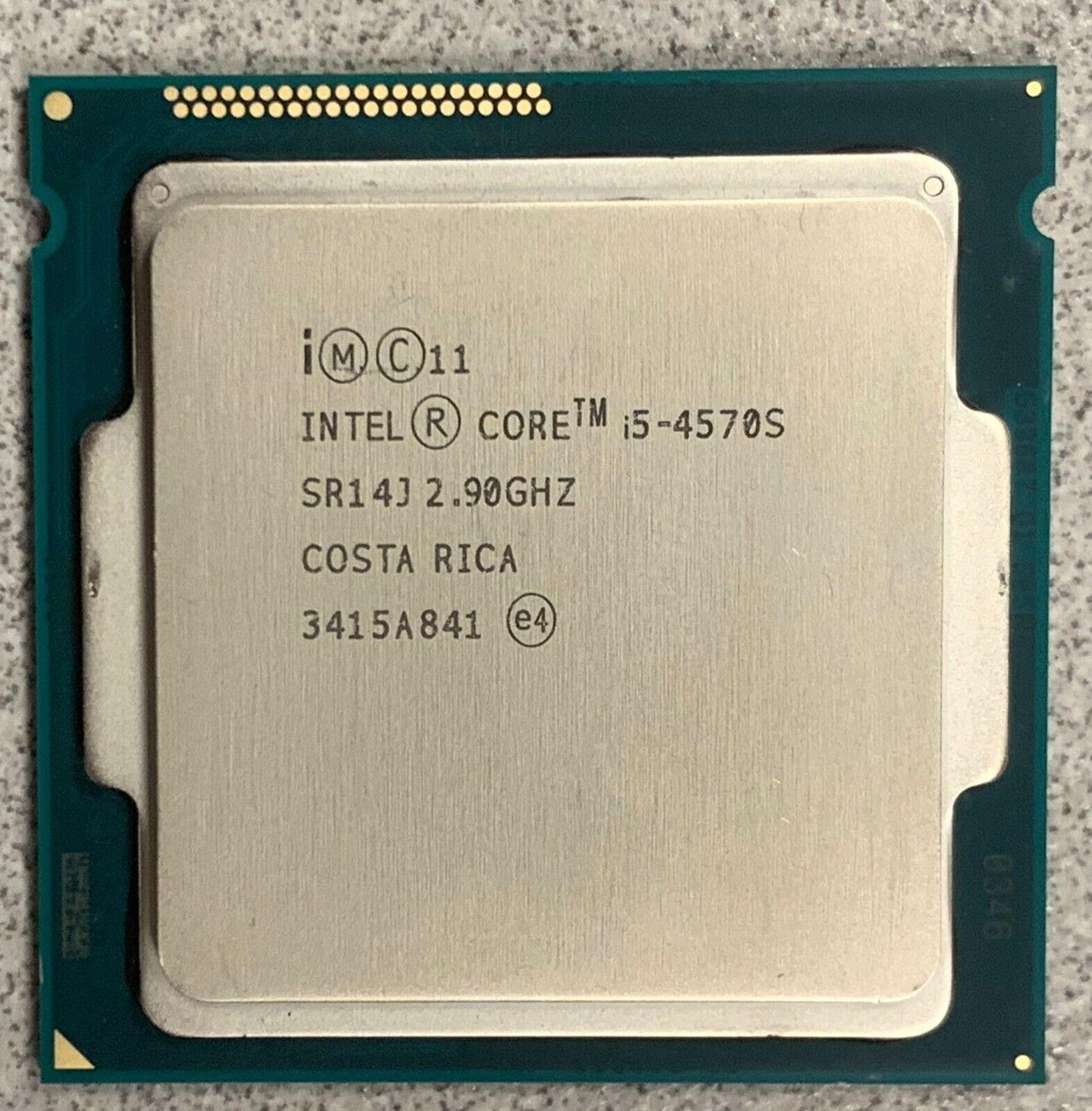 INTEL CORE i5-4570S SR14J 2.9GHz 6MB 5GT//s QUAD CORE LGA1150 TESTED