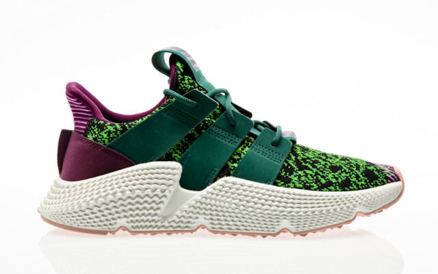 new style f24f2 807cd adidas Prophere Dragon Ball Z Fan of Cell Size UK 7 US 7.5 Green Style  D97053