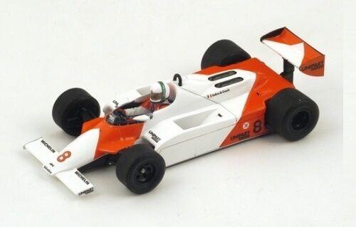 McLaren MP4 1  8 A.De Cesaris  GP Monaco  1981 (Spark 1 43   S4301)