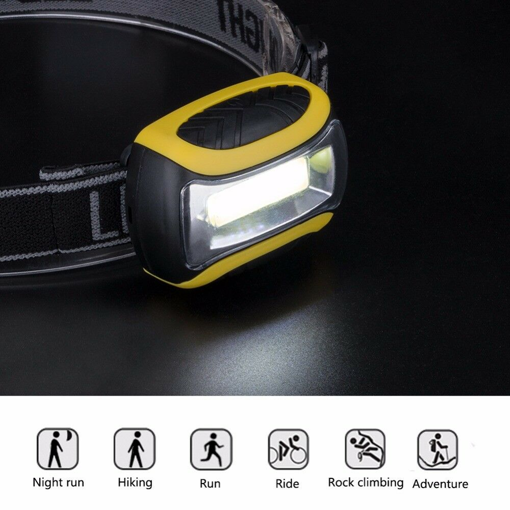 Lightweight LED AAA Headlamp Camping Survival Outdoor Travelling