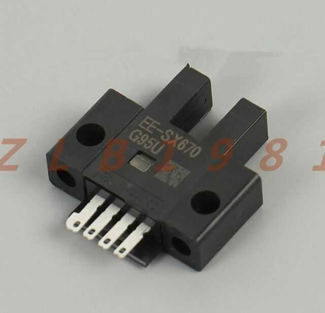 5PCS TP807 5mm U-Type Groove Infrared Optoelectronic Sensor Stable Correlation