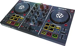 NUMARK-PARTY-MIX-Dj-Controller-Midi-Usb-con-3-led-RGB