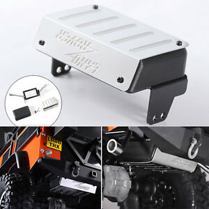 Simulation-Fuel-Tank-Exhaust-Pipe-for-1-10-Traxxas-TRX-4-Land-Rover-Defender