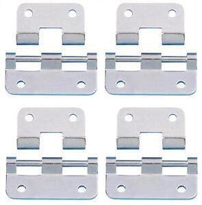 2 x Scharnier mit L-Ecke Stahl vz verzinkt L-Scharnier L-Scharniere L-Ecken NEU