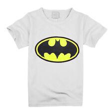 Kids Baby Boys T-shirt Cartoon Batman Short Sleeve Summer Tee Shirts Tops Blouse