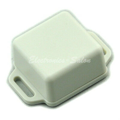 Small Wall-mounting Plastic Enclosure Box Case, White, 36x36x20mm, HIGH QUALITY.