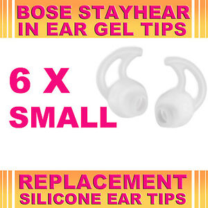 6x-Silicone-Replacement-Small-Ear-Gel-Tips-for-Bose-StayHear-Earphone-Headphone