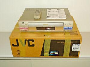 JVC HR-S9700MS High-End S-VHS Videorecorder in OVP, PAL / SECAM-L, 2J. Garantie