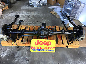 Details about 2007-2018 JEEP WRANGLER JK REAR DIFFERENTIAL RUBICON  E-LOCKING AXLE DANA 44 4 10