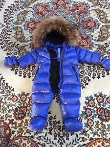 771b346de050 ADD Down Infant s Fur-Trimmed Puffer Snowsuit - 9M
