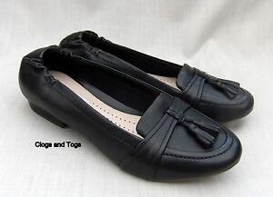 Black Leather Clarks Cube Shoes Henderson 39 Nuevo 5 Size 5 RFT4nUwq