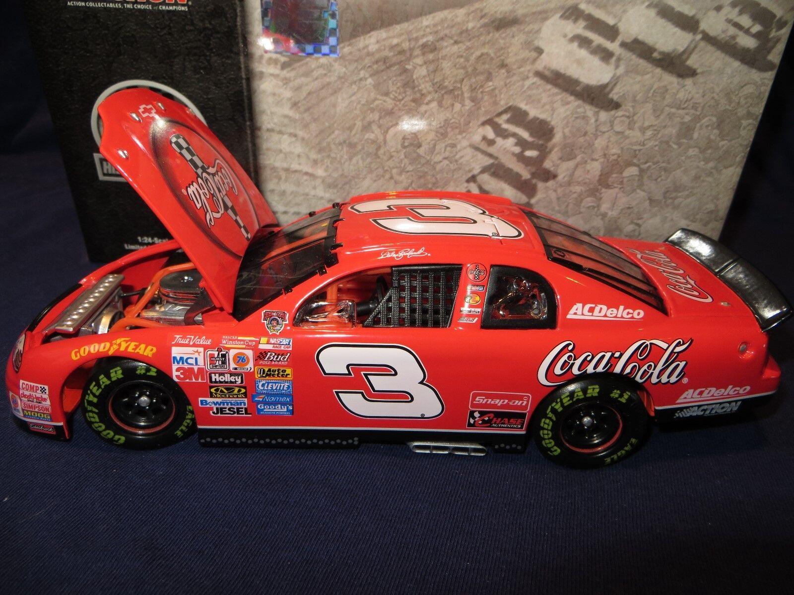Dale Earnhardt  3 Coke   Coca-Cola 1998 1 24 RCCA Monte Carlo Club Car  427 903