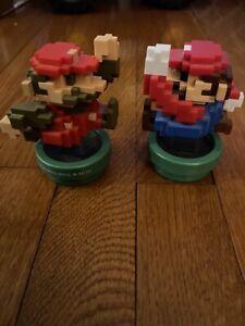 8 Bit Super Mario Bros Amiibo Lot Modern Classic Colors Switch 30th Anniversary