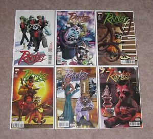 Marvel-Rocket-2017-1-2-3-4-5-6-1st-Prints-Raccoon-Deadpool-Complete-Run-NM