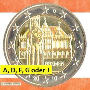 Sondermünzen Brd 2 Euro Münze 2010 Bremen Roland Sondermünze Zwei