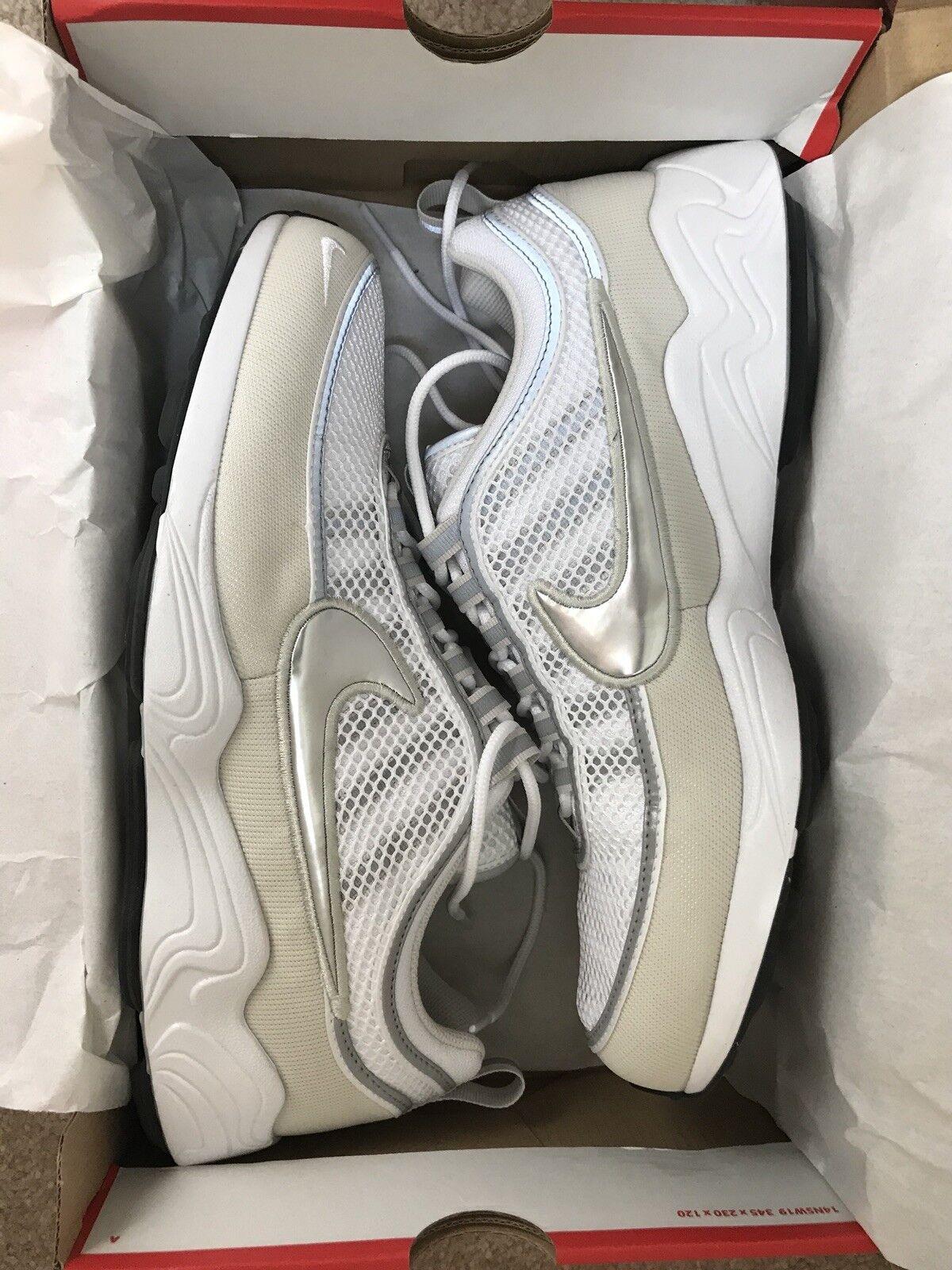 Nike Air Zoom Spiridon / '16 White / Spiridon Silver US 12 299230