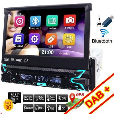 Mobile Porta Tv Con Audio Surround Integrato.Autoradio 1 Din Retractable Screen 7 Car Stereo Touch Screen