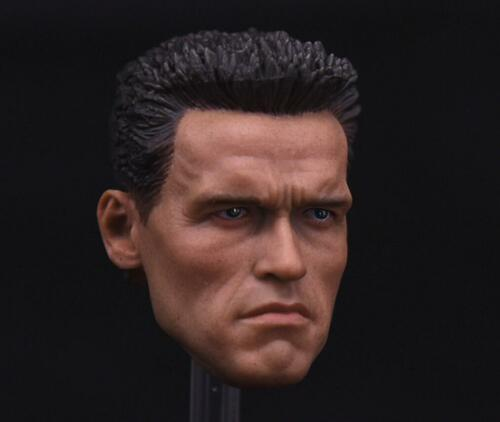1//6 Arnold Aloïs Schwarzenegger Head 2.0 pour Terminator T800 PHICEN M34 Hot Toys