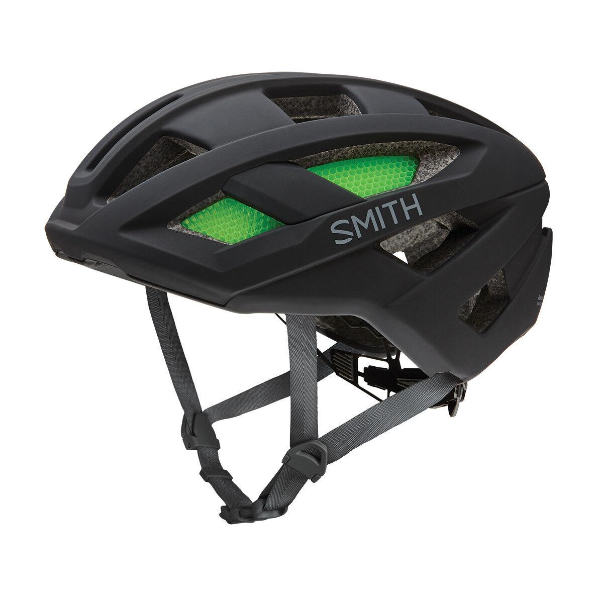 SMITH ROUTE Mips Bici Carretera Bicicleta Casco Negro Mate S M L NUEVO EN CAJA