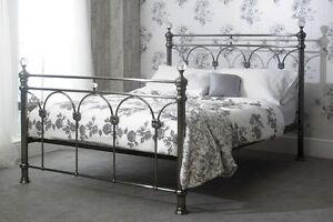 chrome bedroom furniture. Image Is Loading Sonita-Chrome-Brushed-Nickel-Solid-Metal-Bed-Frame- Chrome Bedroom Furniture T