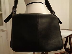 COACH vintage leather messenger bag extra large K3C-5206 made in ...