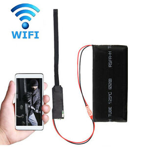 Drahtlose-WiFi-IP-versteckte-Kamera-DIY-Modul-Mini-DV-Motion-Nanny-Cam-NEU