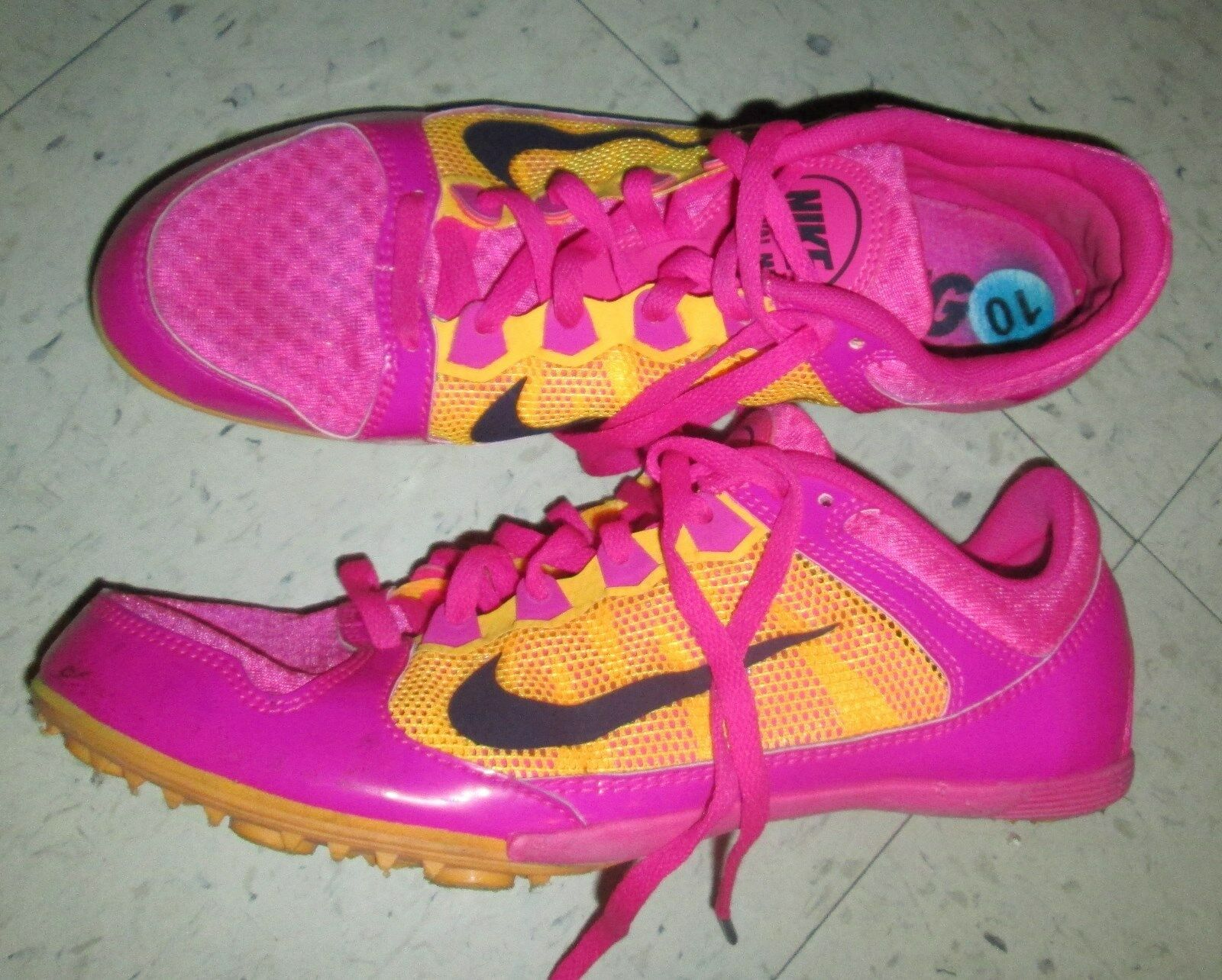 Nike Zoom Rival MD7 Mid Distance Track Running 615982-660 Womens 10 NO SPIKES Cheap women's shoes women's shoes
