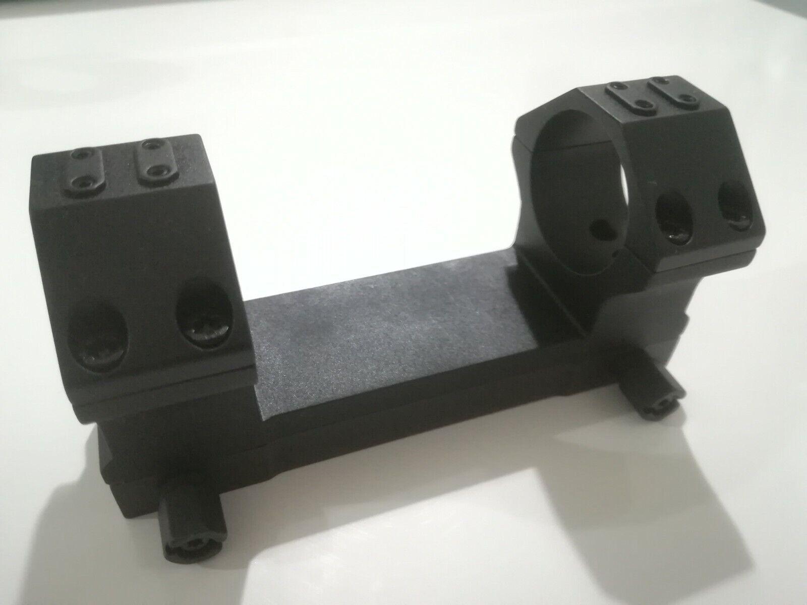Montajes Alcance Táctico Monoblock Para Riel Picatinny 34mm, 20 Moa