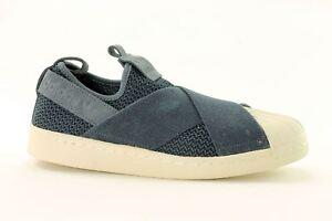 Adidas Superstar Slip - on bb2119  mujer Trainers ~ originales ~ Reino Unido