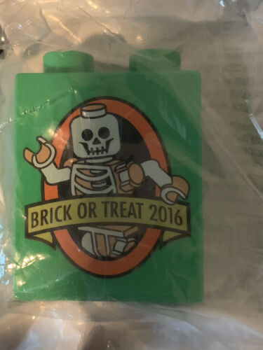 Rare LEGOLAND HALLOWEEN Event Brick 2016 Limited Edition Release Promo Brick