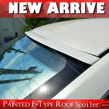 Painted 1994-1997 For F-Type Rear Roof Lip Spoiler Wing Audi A6 C4 4DR Sedan PUF