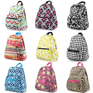 Mini School Travel Small Backpack Kids Toddler Teen Backpack Zip
