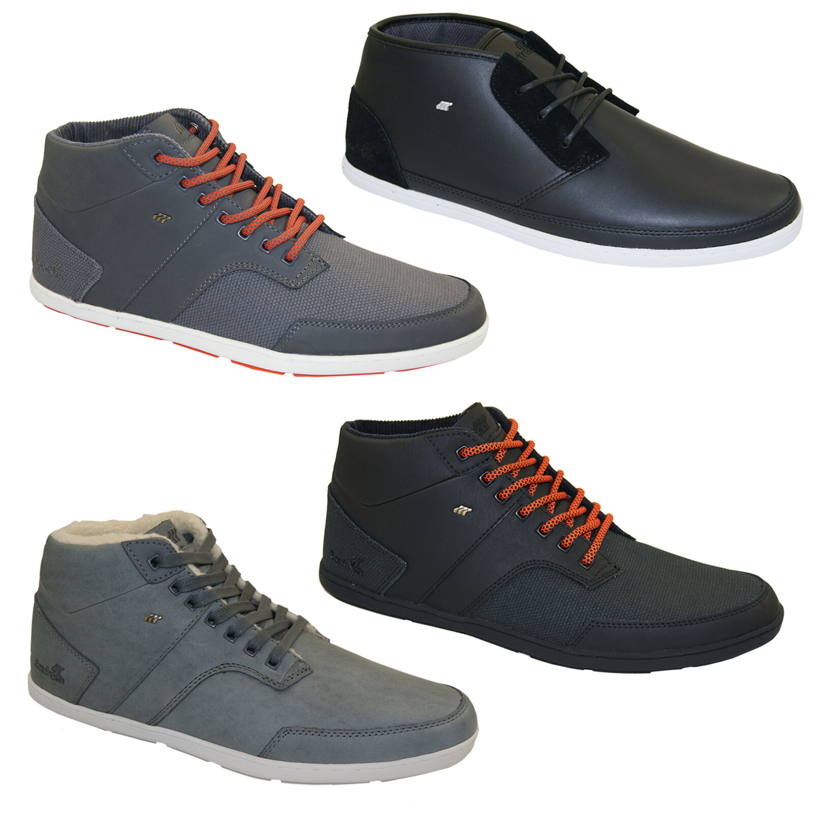 Boxfresh Shepperton Milford High Top  Stivali Uomo normalissime NUOVO