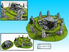 Pezzo di terreno kelt. pietra CERCHIO & sepolcro (2 pezzi) per Tabletop/wargame