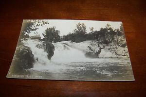 Rare-Vintage-RPPC-Real-Photo-Postcard-Redwood-Falls-Minnesota-Scenic-Waterway