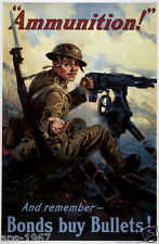 WW1 World War 1 propaganda recruitment poster photo 100 years 1914-2014 #16