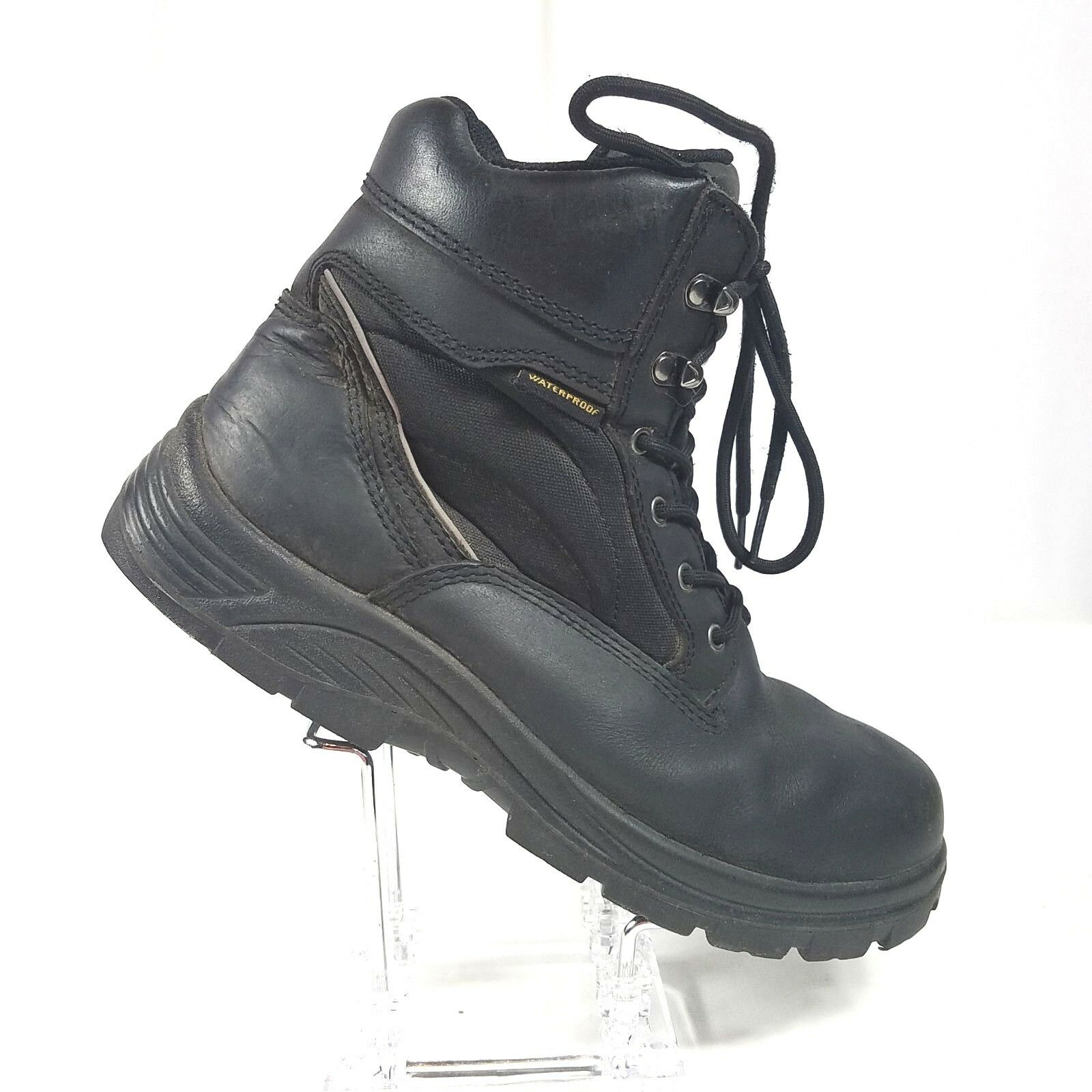 Avenger Mens Work Boots Size 10 M Waterproof Lace Up EH A7627 ASTM F2892-11