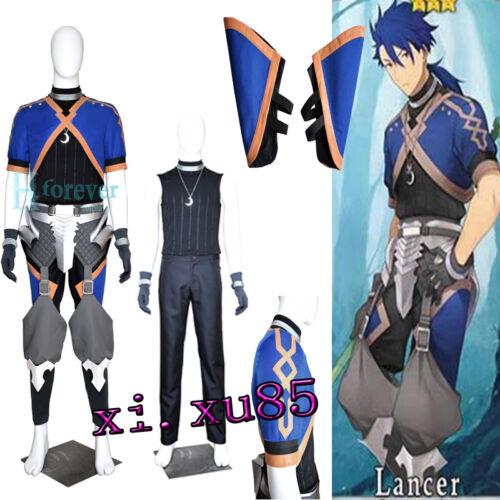 Customize Fate//Grand Order Chulainn Lance Alter Cosplay Costume Unisex Full Set