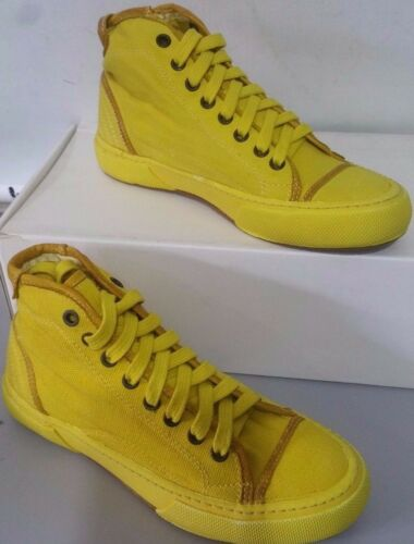 36 Tn47 D'oro Canvas Sneakers Shoes Unisex Uomo Pantofola Donna Scarpe Giallo 4ZIwYY