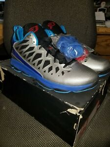 brand new d1e9d e1c87 Image is loading Nike-Air-Jordan-CP3-VI-Metallic-Silver-Black-