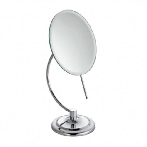 Shaving Make Up Bathroom Mirror Adjustable Round Square Free Standing Wall Mount