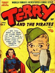 Details about TERRY AND THE PIRATES GOLDEN AGE COMICS PDF ON CD