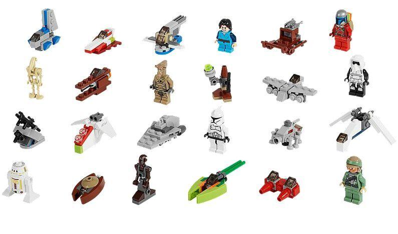 LEGO® Star Wars 75023 Adventskalender NEU OVP_ Advent Calendar Calendar Calendar NEW MISB NRFB ac7b09
