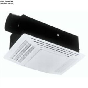 Bath Exhaust Fan Bathroom Ceiling Light Heater Air Vents ...